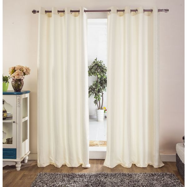Rt Designers Collection Thelma Jacquard 90 Inch Grommet Curtain Panel Free Shipping On Orders Over 45 Com 22671812