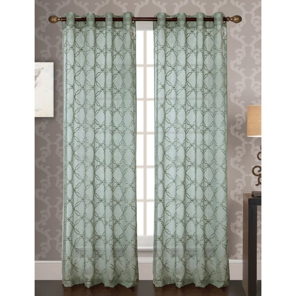 Shop RT Designers Collection Reed Embroidered 84-Inch