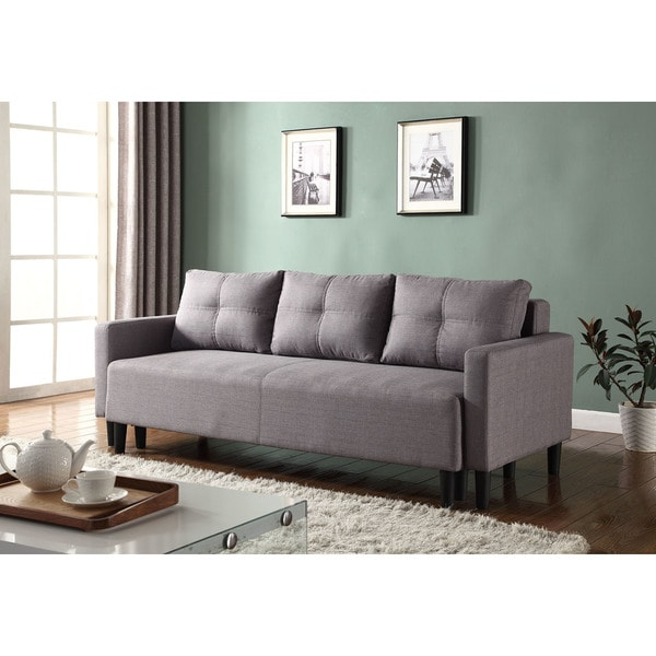 Shop Best Master Furniture L33306 Adjustable Sofa Bed Futon Free Shipping Today Overstock