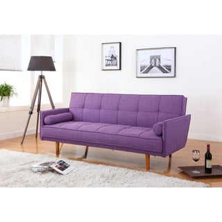 Best Master Furniture L33303 Linen Adjustable Sofa-bed Futon
