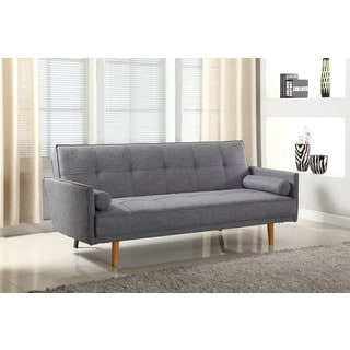 Best Master Furniture L33303 Linen Adjustable Sofa-bed Futon