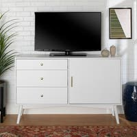 "angelo:HOME 52"" Mid-Century TV Console - 52 x 16 x 33h"