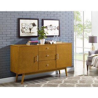 60-inch Traditional Mid-century Wood TV Console (2 options available)