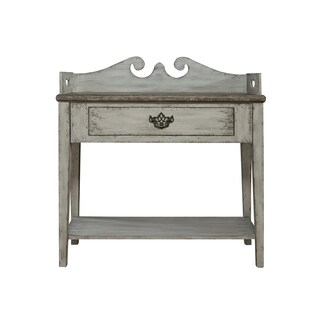 Sophia Weathered Grey Accent Table