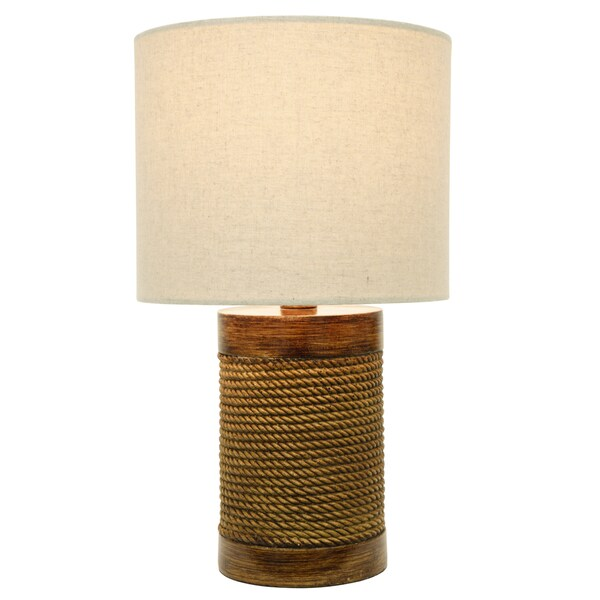 Cali Rope Wrapped Accent Lamp
