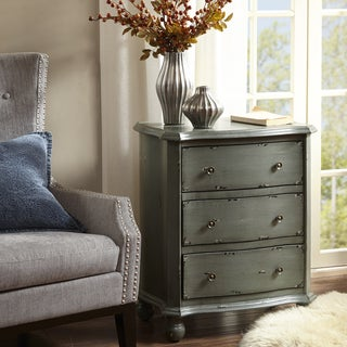Madison Park Reema Antique Blue Chest