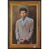 Seinfeld - Kramer Poster in a Walnut Wood Frame (24x36)