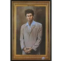 Seinfeld - Kramer Poster in a Black Thin Poster Frame (24x36)
