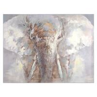 Yosemite Home Decor Face of a King Original Hand-Painted Wall Art