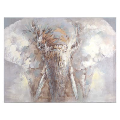 Yosemite Home Decor Face of a King Original Hand-Painted Wall Art - Multi-Color