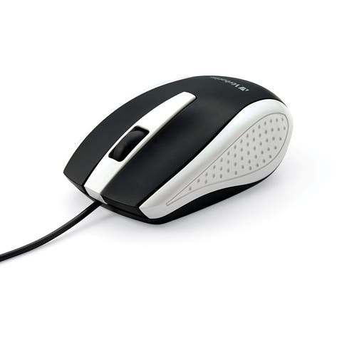 Verbatim Corded Notebook Optical Mouse - White