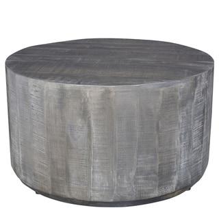Eva Grey Wood Coffee Table