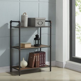 Bronx-3 Tier Metal Pipe Etagere
