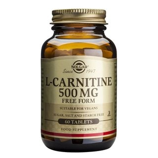 Solgar L-Carnitine 500 mg (60 Tablets)