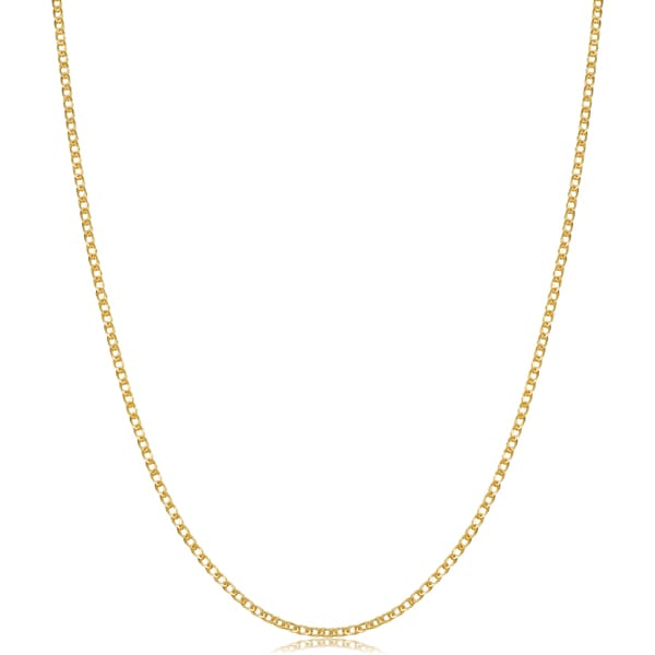 Fremada Italian 14k Yellow Gold Double Wheat Chain Necklace