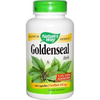 Nature's Way Goldenseal Herb (180 Capsules)