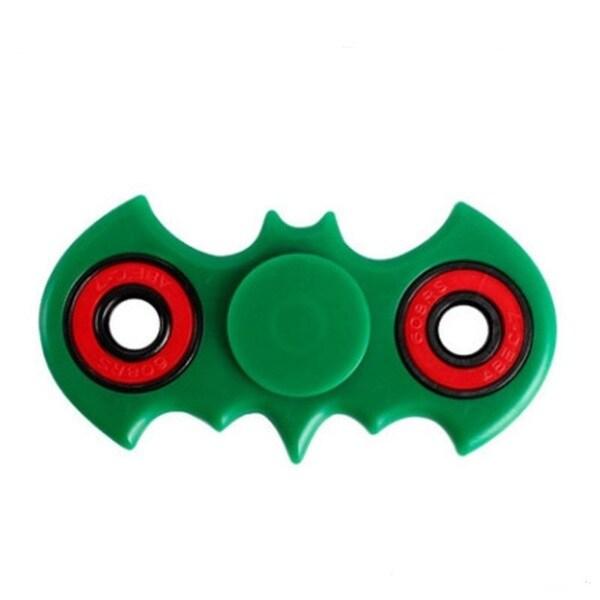 Batman Shape Green 360 Fidget Spinner