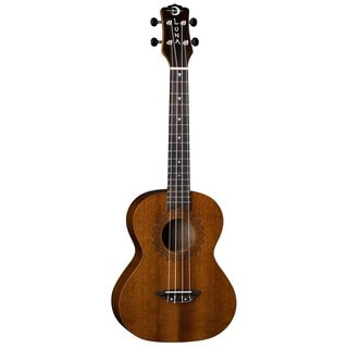 Luna Guitars Vintage Tenor Ukulele, Mahogany Body - Satin Natural