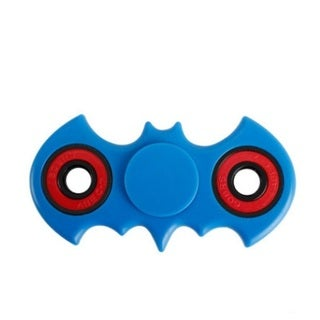 Batman Shape Blue 360 Fidget Spinner