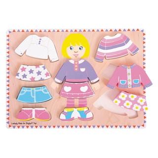 Bigjigs Toys Big Dressing Girl Puzzle