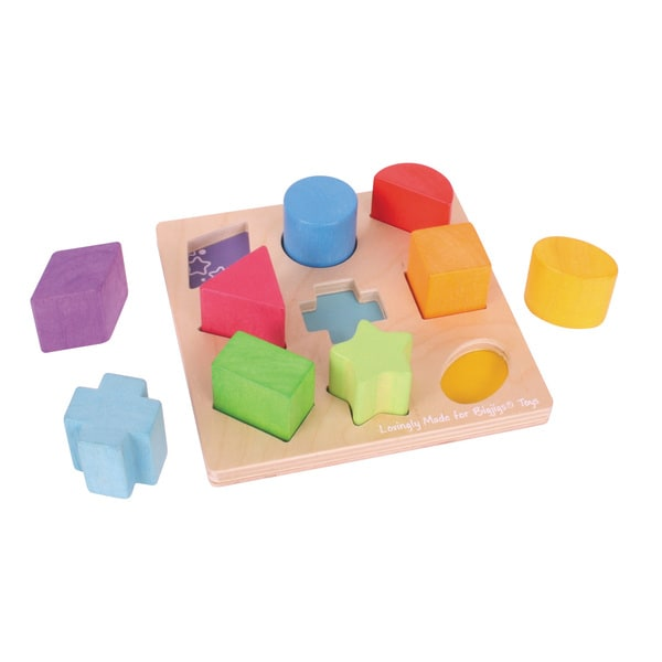 Bigjigs Toys First Shapes Board