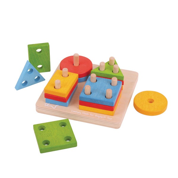 Bigjigs Toys First Four Shape Sorter