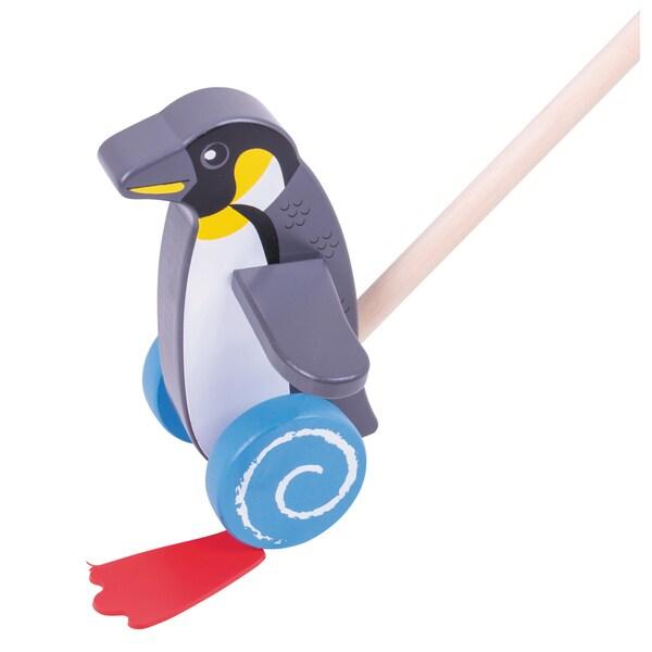 Bigjigs Toys Push Along Penguin