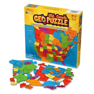 Geotoys USA and Canada GeoPuzzle