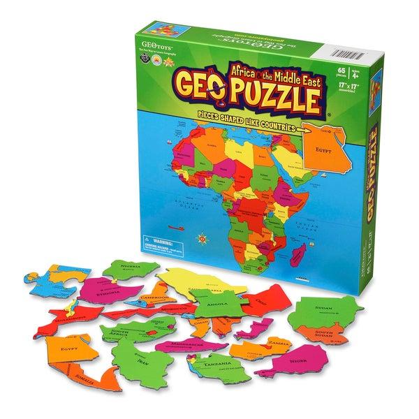 Geotoys Africa GeoPuzzle