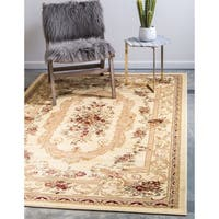 Unique Loom Henry Versailles Area Rug - 7' X 10'