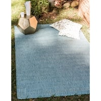 Unique Loom Outdoor Solid Area Rug - 9' x 12'