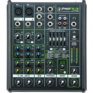 Mackie PROFX4V2 4-Channel Compact Mixer w/ Effects
