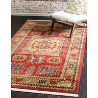 Unique Loom Bardiya Sahand Area Rug - 7' x 10'