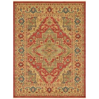Unique Loom Arsaces Sahand Area Rug (Red - 9 x 12)