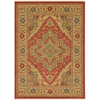 Unique Loom Arsaces Sahand Area Rug (Red - 82 x 11)
