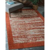 Unique Loom Milwaukee Indoor/ Outdoor Area Rug - 9' X 12'