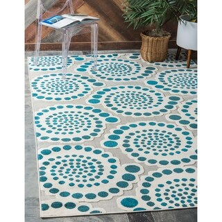 Unique Loom Charlotte Indoor/ Outdoor Area Rug - 9' x 12'