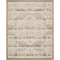 Unique Loom Ithica Transitional Area Rug - 8' 0 x 10' 0