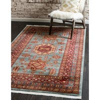 Unique Loom Shapur Serapi Area Rug - 10' x 13'