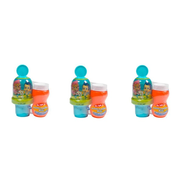 Little Kids Bubble Guppies Mini Bubble Tumbler (Pack of 3)