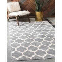 Unique Loom Philadelphia Trellis Area Rug - 8' x 11'