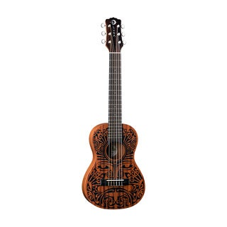 Luna Guitars Tribal 6-String Ukulele, Mahogany Body - Satin Natural