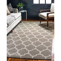 Unique Loom Philadelphia Trellis Area Rug - 8' x 10'