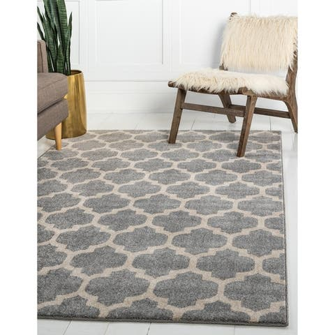 Unique Loom Philadelphia Trellis Area Rug