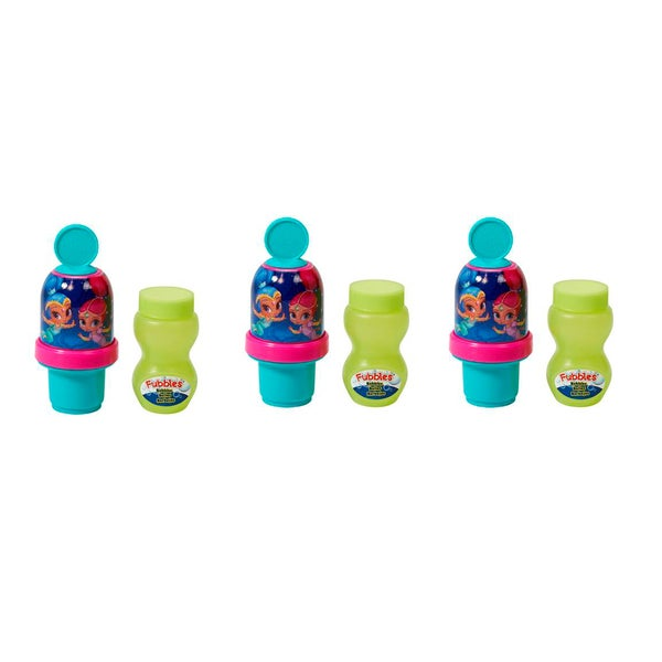 Little Kids Shimmer and Shine Mini Bubble Tumbler (Pack of 3)
