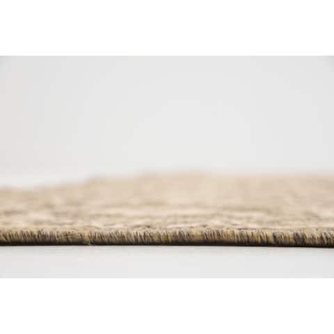 Unique Loom Allover Outdoor Area Rug