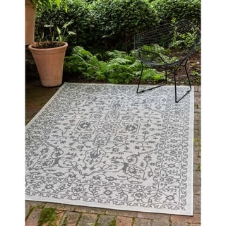 Unique Loom Allover Outdoor Area Rug