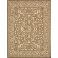 Unique Loom Allover Outdoor Area Rug - 9' x 12'