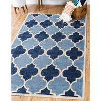 Unique Loom Nashville Trellis Area Rug - 9' X 12'