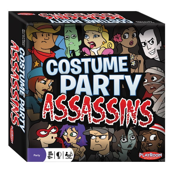 Playroom Entertainment Costume Party Assassins Game
